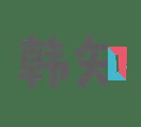 韩知 韩语学习 로고